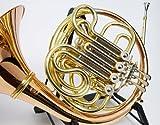 SYMPHONIE WESTERWALD Bb/F - Cuerno doble (latón dorado, incluye estuche rígido y accesorios)