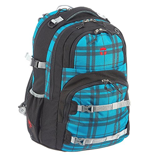 Take It Easy Schulrucksack OSLO-FLEX Scotch türkis 497226 scotch türkis