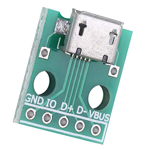 Placa Adaptadora DIP USB, Placa Adaptadora Micro Usb A Dip 4P Adaptador DIP USB Adaptador DIP USB Placa USB A DIP Para Bricolaje DIY Micro Usb Hembra Para Placa De Pruebas
