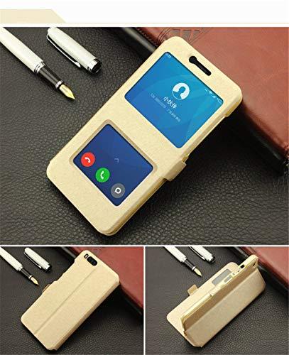 QiuKui For Xiaomi redmi Nota 2 3 4 5 6 7 Pro 3S, Vista de Lujo del Soporte del tirón del Cuero de la PU del Protector de la Cubierta de Libro for Xiaomi redmi 4X 4A 5A 6A Plus