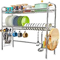 Heomu 2-Tier Over The Sink Dish Drying Rack