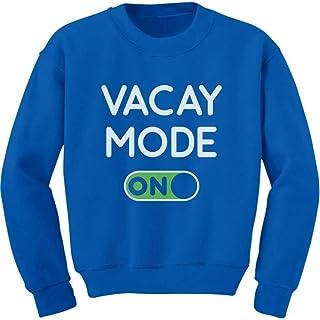 Tstars Vacay Mode ON Summer Fashion Vacation Youth Kids Sweatshirt