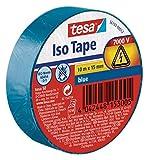 Tesa 56192-00011-02 Nastro Isolante, Blu, 10M X 15 mm