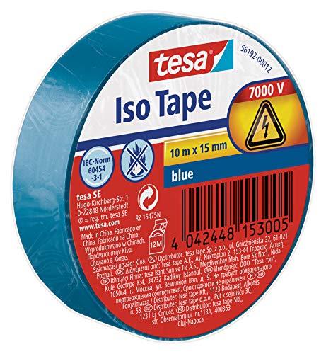 tesa 56192-00012-02 11624 Isolierband, Blau, 1 Rolle