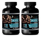 Muscle Building Supplements for Men - CREATINE TRI-Phase - 3X Formula - PRE & Post Workout - creatine monohydrate Pills - 2 Bottles (180 Tablets)