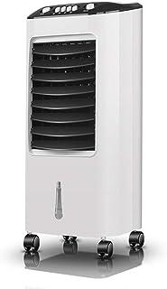 WDX- Refrigerador del Ventilador de refrigeración Que Mueve el acondicionador de Aire del Agua del Aire Acondicionado pequeño Frio (Color : White)