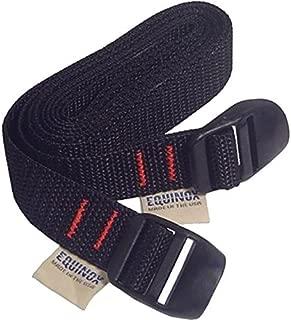 Equinox Lash Straps Pack of 2 (24-Inch) Black