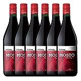 Peñasol Mosto Tinto - Pack 6 x 1000 ml - Total 6000ml