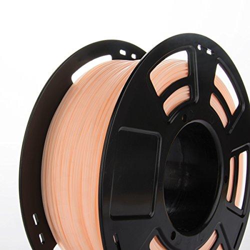 3ddplus 1,75 mm PLA 3d impresora filamento piel Color- 1 kg Spool ...