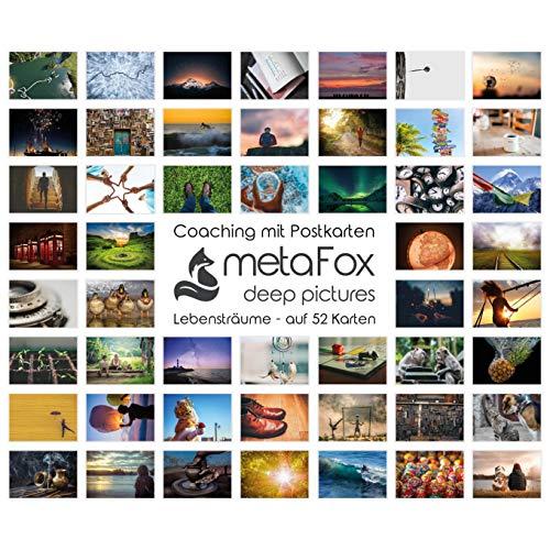 metaFox | Lebensträume | 52 Postkarten für Coaching & Persönlichkeitsentwicklung