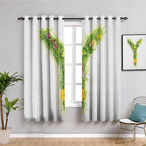 cortinas habitacion vintage