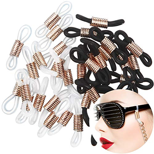Eyeglass Chain Ends Ring Connector Retainer Holder for Eye Glasses (40 Pieces)
