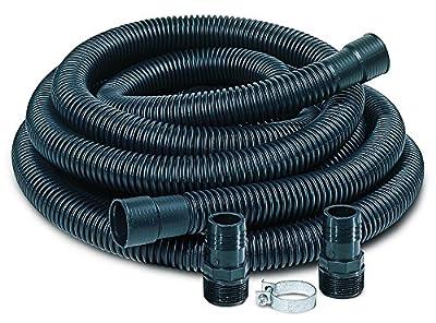 "Little Giant SPDK Sump Pump Discharge Hose Kit, 1-1/4"" Hose - 1-1/2"" & 1-1/4"" Adaptors"
