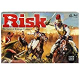Rich board art draws players into the Risk gaming world.; Note: dices are included inside war crate; Recommended Age: 10 Years; Color: Multi Color Take over the world in this game of strategy conquest Features updated 300 figures Improved mission car...