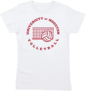 CafePress - University of Houston Volleyball - Girl's Cotton T-Shirt, Cute Slim Fit Girl's Shirt