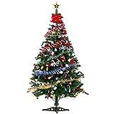 ZHongWei - Corona de Navidad Decoraciones de Navidad, Conjunto de árboles de Navidad, Sala de Estar, decoración, Arboles de Navidad (Size : 1.2m)