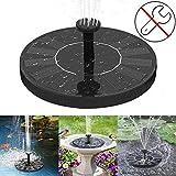 Fuente Solar Bomba 2 5W Fuente Solar Jardín Solar Fuente Placa Flotante Bomba Sumergible Set Piscina Estanque Jardín Acuario Decoración