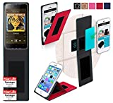 Cover for HomTom HT7 Pro Case | in Red | Multifunctional