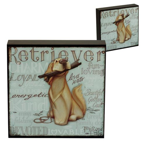 Wall Art - My Pedigree Pals Dogs Pictures (GOLDEN RETRIEVER) by Pedigree Pals