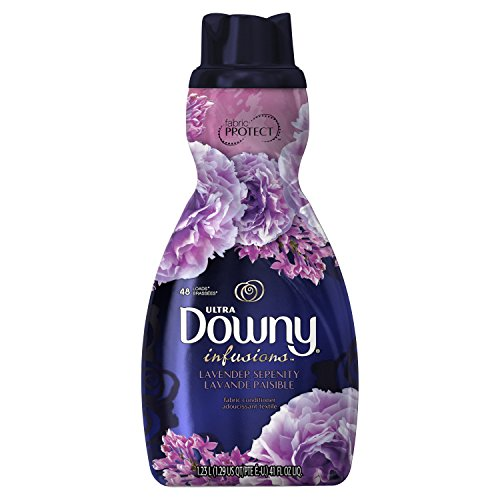 Downy Ultra Infusions Liquid Fabric Softener, Lavender Serenity, 41 Ounce