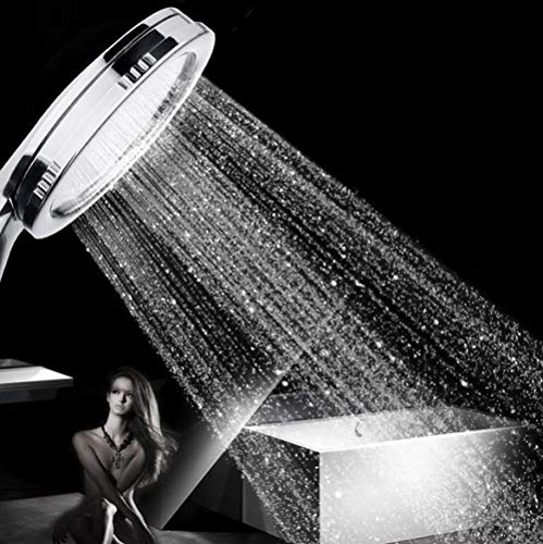 Cabezal de ducha Boquilla de ducha de alta presión Baño Boquilla de ducha de bajo consumo Baño potente rociador presurizado Boquilla de ducha de mano