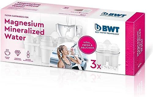 BWT 814136 Pack de 6 Cartouches Filtrantes pour Eau Dur