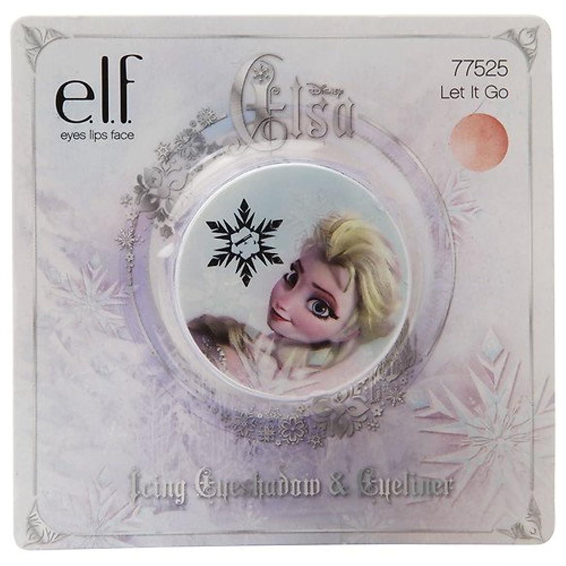パーセント一月公爵夫人e.l.f. Cosmetics ELF クリームシャドウ ポット フローズン アナと雪の女王 エルサモデル