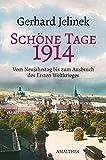 Schöne Tage. 1914, Vom Neujahrstag bis zum Ausbruch des Ersten Weltkrieges