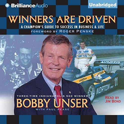 Winners are Driven audiobook cover art