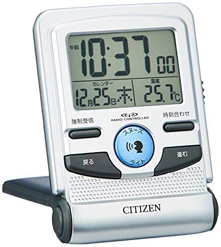CITIZEN Alarm clock Pal digit Guide Radio-Controlled Wrist Watch 8RZ109-019 (Japan Import)