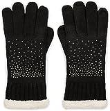 styleBREAKER warme Handschuhe mit Strass und...