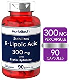 Best R Lipoic Acids - R Lipoic Acid 300mg Stabilized | 90 Capsules Review