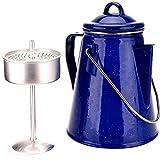Oztrail - Cafetera Enamel Coffee Pot 2L para 8 Tazas de café - Azul