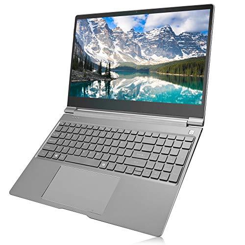 Laptop F15 de 15.6 pulgadas, 1920x1080 Pantalla Full HD IPS Teclado retroiluminado Laptop 2.4G Cuaderno portátil de gráficos integrados de cuatro núcleos con conector para auriculares de 3.5 mm(YO)
