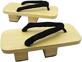 SSJ:Japanese Traditional Shoes Geta [ Mens 8-9 Size ] Wooden Clogs Sandals