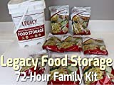 Legacy Food Storage. 72-Hour Family Kit Review