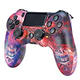 Xcmenl Wireless Controller für PS4 Slim/PS4 Pro,USB Controller für PC,Bluetooth Gamepad mit Dual-Vibration Audiofunktionen Playstation Controller Joystick - TP1054