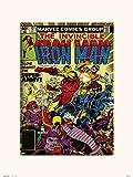 Grupo Erik Lámina Decorativa, Comics Marvel - Iron Man 127, 30 x 40 cm