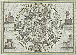 Media Storehouse 252 Piece Puzzle of Antique Star Chart with Zodiac Signs (19267019)