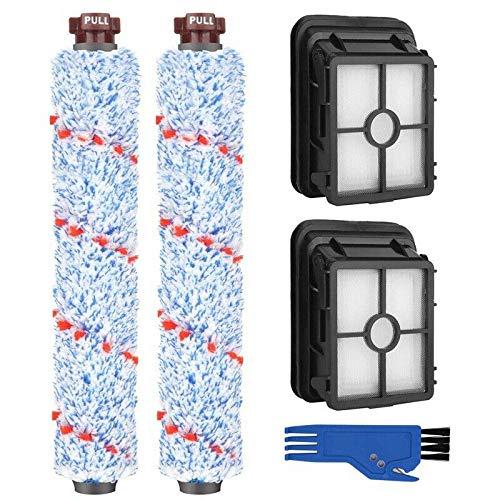 YTT 5 Accessoires pour Bissell Crosswave Brosse Rouleau et Filtre de Remplacement de Nettoyage compatible Bissell 17132 et 2225N Series