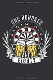 Bier und Darts: Notizbuch für Bierliebhaber und Darts Spieler