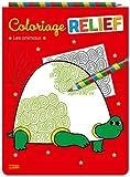 Mon bloc magique - Coloriages en relief - Les animaux - Dès 5 ans