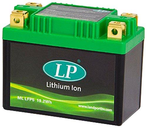 Accossato ML LFP5-45 Batteria al Litio per Aprilia Scarabeo 2T, 100, (2000-2017)