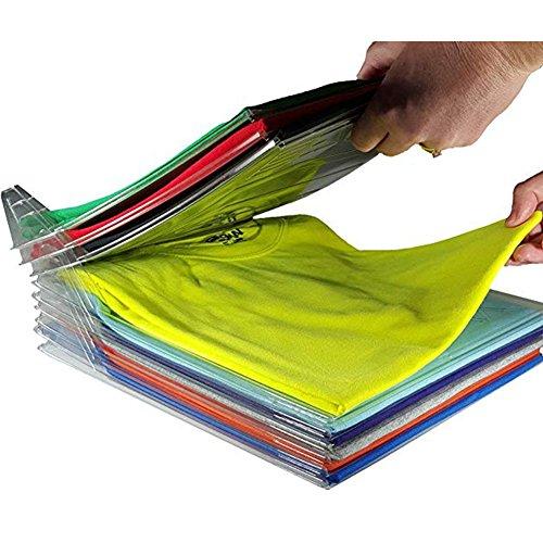 Rocita 2-in-1-Ordnungsmappe zum Aufbewahren von Ordnern, zum Aufbewahren von Ordnern, zusammenklappbares T-Shirt, Schublade, Koffer