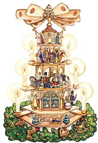 Wandkalender – Adventspyramide
