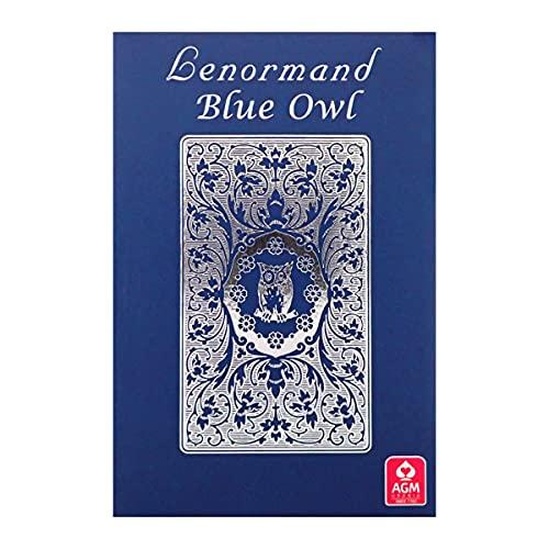 ルノルマン ブルー オウル シルバー エディション Lenormand Blue Owl Silver Edition 占い ルノルマンカード [正規品] 英語のみ