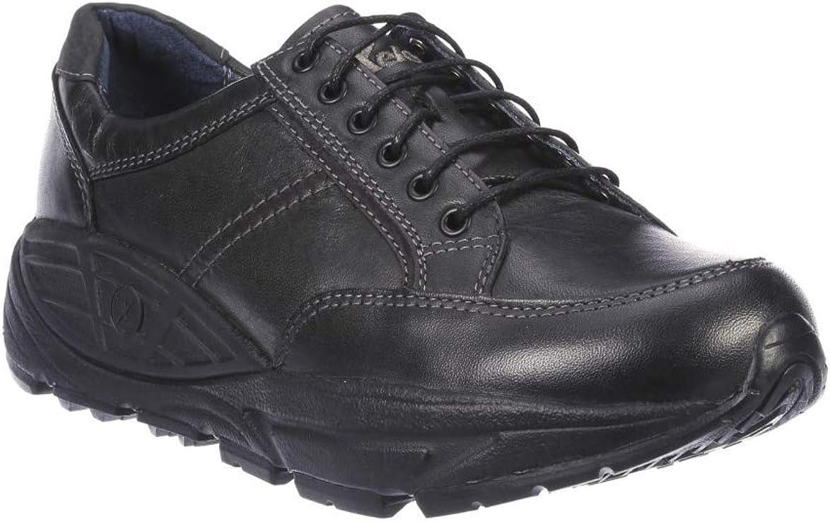 Xelero Athena II Womens Black Leather Casual Comfort Walking Shoes