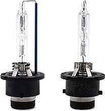 Safego 2X D2S Lámpara de Xenón de Faros Bombilla Hid Xenon Luz Luces de Coche para Coches Blanco Frio Ac 12V 35W 8000K