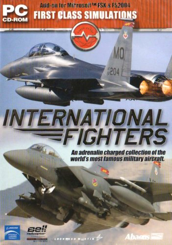 Flight Simulator X und 2004 - International Fighters (Add-On) [UK Import]