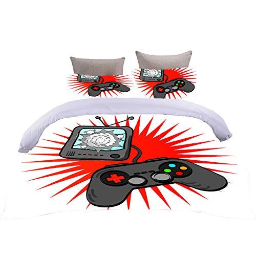 Bettwäsche Gamepad Retro Remote Kreativität...